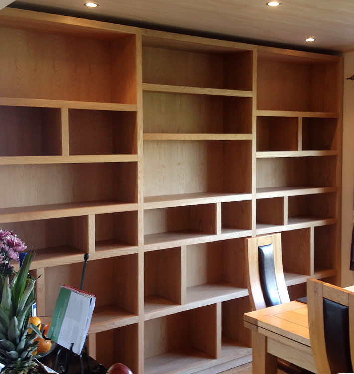 Custom Bookcase & Shelves, Brighton & Hove