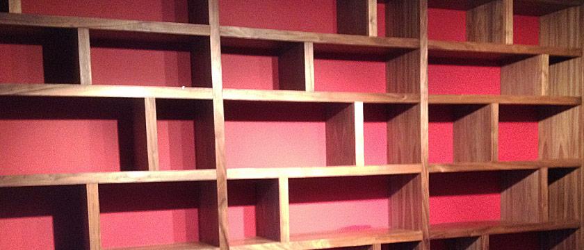 Made to Measure Bookshelves, Brighton & Hove